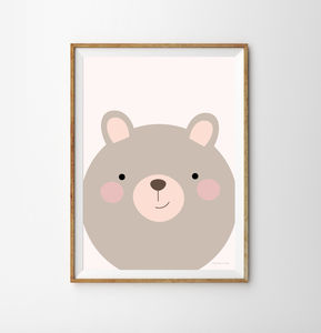 Bear Children's Print - animals & wildlife