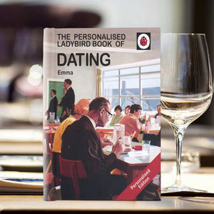 Personalised Ladybird Dating Book - new in