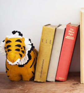 Felt Animal Bookends - gifts for children