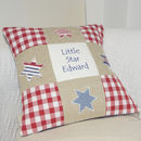 Personalised Little Star Cushion