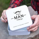 Personalised Man Tin