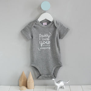 'I Love You As Much As' Babygrow