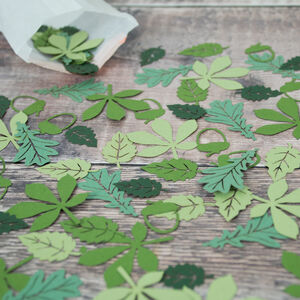 Forest Leaf Table Confetti