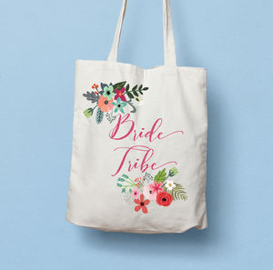 Bride Tribe Bridesmaids Tote Bag
