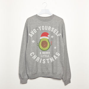 Avo Yourself A Merry Christmas Women's Sweatshirt - sweatshirts & hoodies