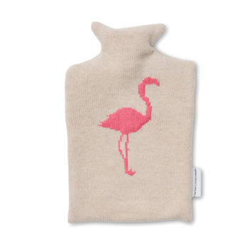 Flamingo Design Hot Water Bottles