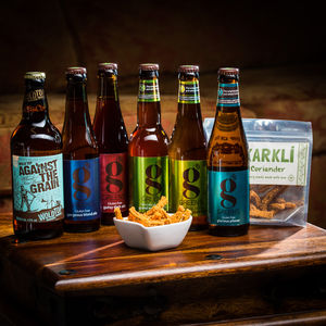 Gluten Free Beer And Snack Taste Box - wines, beers & spirits