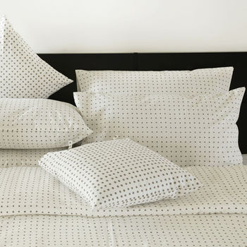 Losal Polka Dot Design Pillowcase French Grey