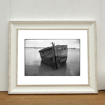 Boat, Suffolk Photographic Art Print