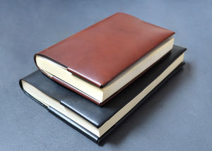 Refillable Leather Journal / Notebook Cover