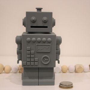 Robot Silicone Money Box - what's new