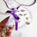 10 Personalised Purple Wedding Favours Italian Style