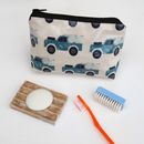 Land Rover Oil Cloth Wash Bags