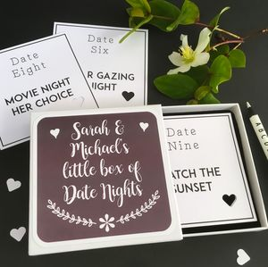 Date Night / Lovers Tokens Box - gifts for her