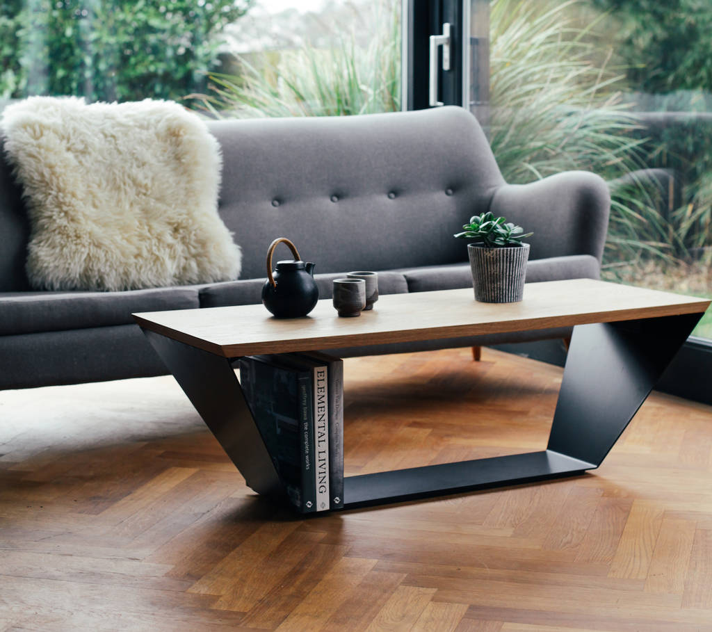 Coffee Table Minimal And Elegant Design By Heather Scott Design Notonthehighstreet Com