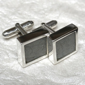 Hurricane Sterling Silver Cufflinks