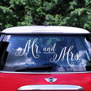 Wedding Mr And Mrs Car Sticker