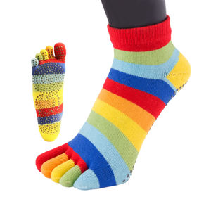 Anti Slip Sole Trainer Toe Socks - women's fashion