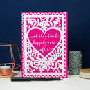 Happily Ever After Printed Card