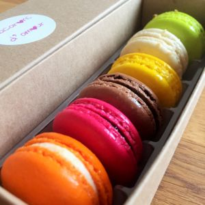 Classic Selection Box Of 12 Macarons - what's new