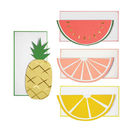 Fruit Note Cards And Envelopes