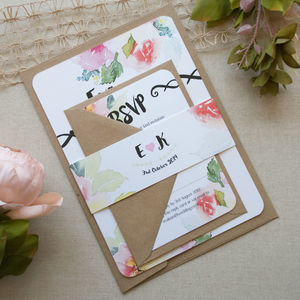 Love Art Wedding Invitation - new in wedding styling