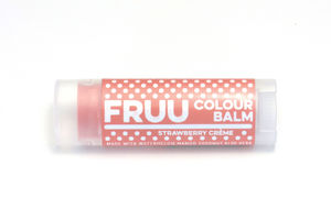 Strawberry Crème Tinted Lip Balm Vegan And Organic - make-up