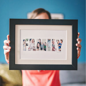 Personalised 'Family' Photograph Print - pictures & prints for children