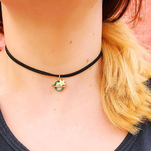 Personalised Planet Choker - chokers