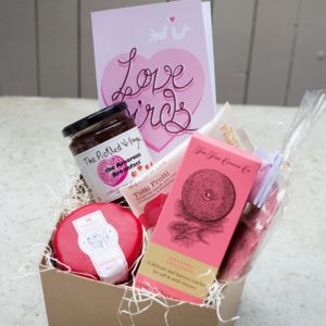 'Lovebirds' Artisan Hamper - food hampers