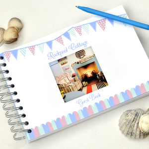 Personalised Holiday Home Guest Book