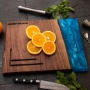 Electric Blue Chopping Board