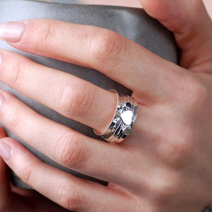 Cherish Heart Spinning Ring - rings