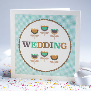 Hunkydory Wedding Card - wedding, engagement & anniversary cards