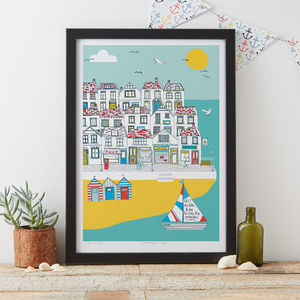 Summer By The Sea Art Print - nature & landscape