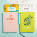 Design Your Own Personalised Notebook