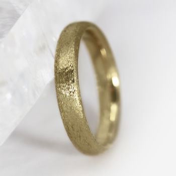 4mm Court Profile 18ct Gold 'Lochy' Wedding Ring