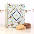 Royal Ascot Embossed Tin Of Biscuits
