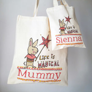 Magical Mummy And Me Bags - easter egg hunt