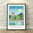 Christchurch Quay, Bournemouth Dorset Print