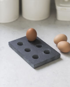 Egg Tray Slate - kitchen accessories