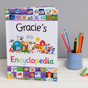 Personalised Encyclopedia: Christening/Baptism Gift
