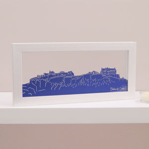 Edinburgh Castle Mini Panoramic Wall Art - summer sale