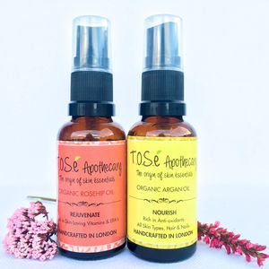 Organic Beauty Oil Set - hair care