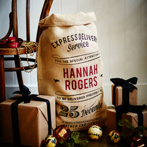 The Raleigh Personalised Christmas Sack