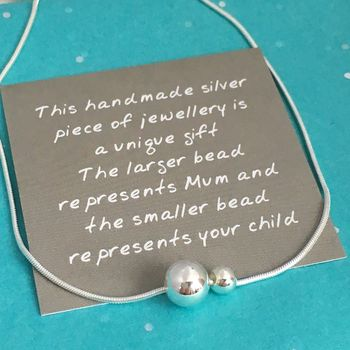 Mum And Family Necklace