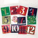 The 12 Days Of Christmas Cards