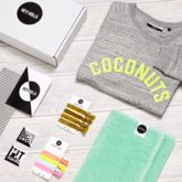 'Coconuts' | The Gym Sweatshirt Fit Kit, Gift Box - mum loves