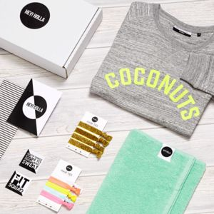'Coconuts' | The Gym Sweatshirt Fit Kit, Gift Box - women's fashion