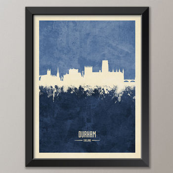 Durham Skyline Print And Box Canvas